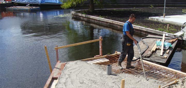 kleine betonpompen